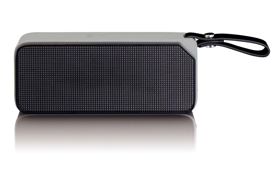 Lenco BT-191 Bluetooth speaker with lights -  Black front