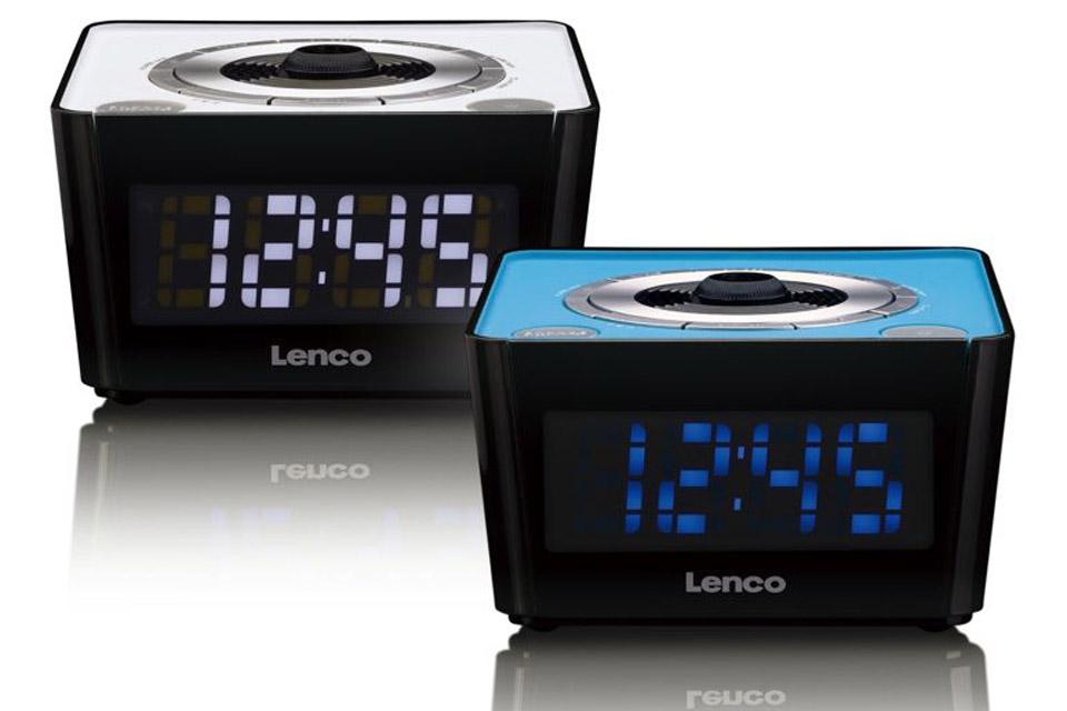 Lenco CR-16 FM clockradio with projector