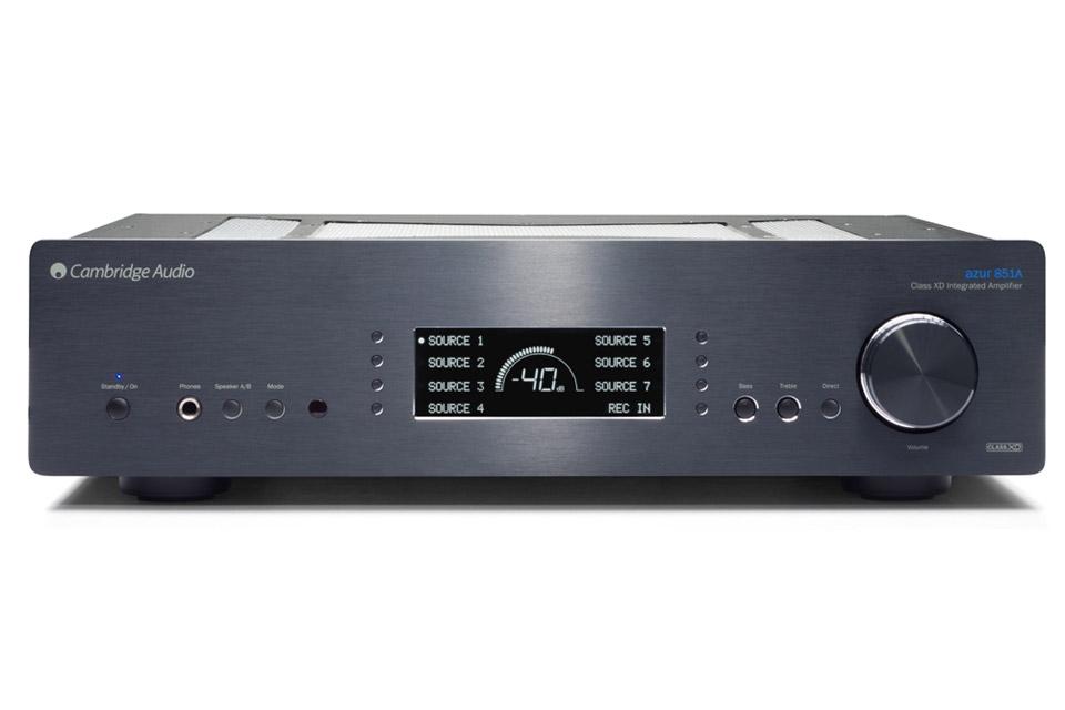 Cambridge Audio Azur 851A integrated amplifier, black