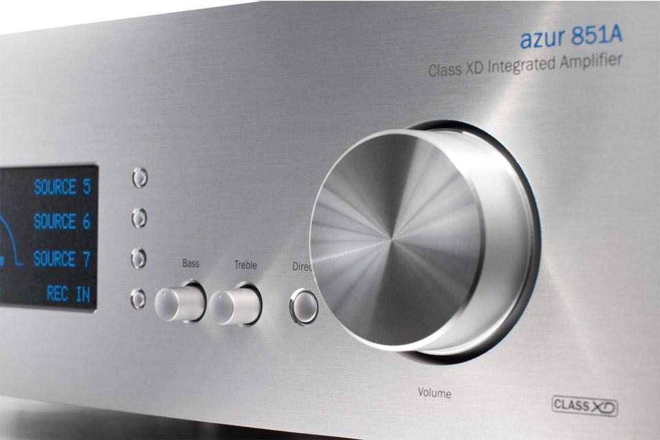 Cambridge Audio Azur 851A integrated amplifier, silver