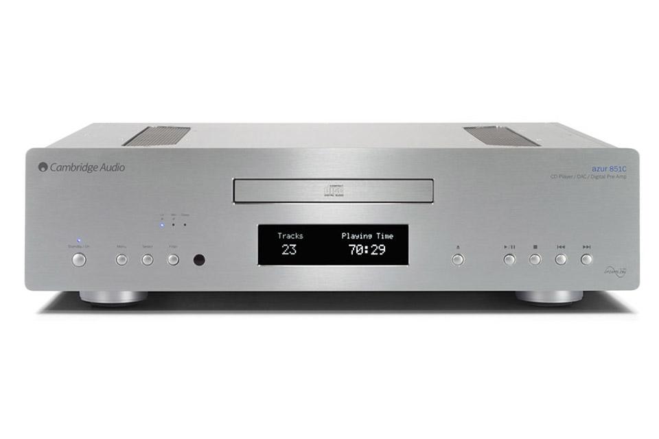 Cambridge Azur 851C CD-player, DAC and preamp, silver
