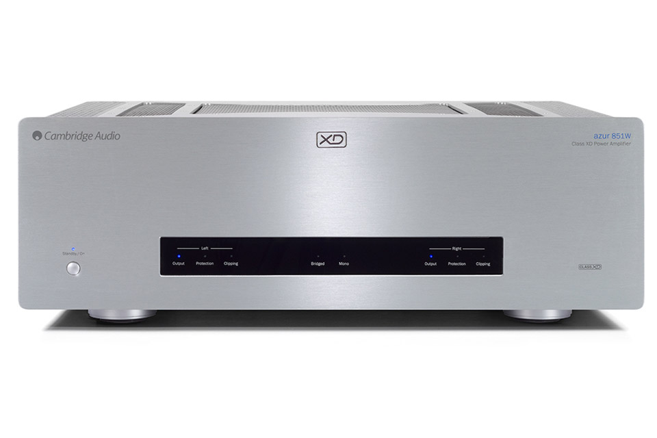 Cambridge Audio Azur 851W power amplifier, silver