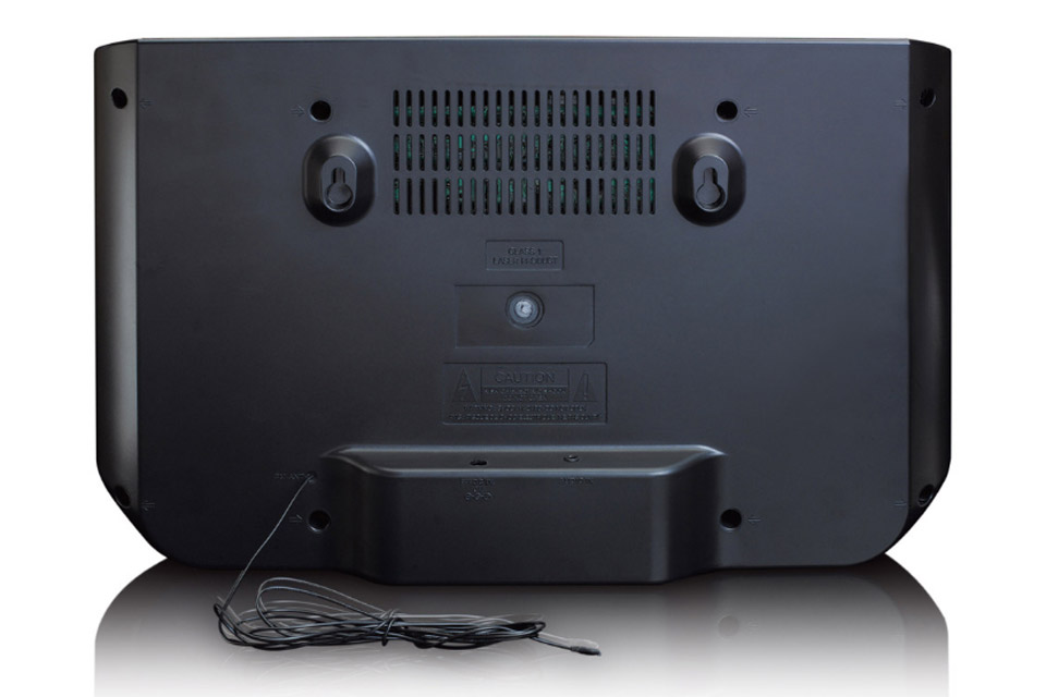 Lenco DAR-045 CD, FM and DAB+ radio - Back