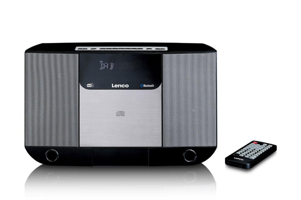 Lenco DAR-045 CD, FM and DAB+ radio - Front