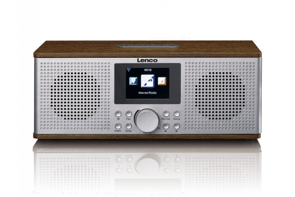 Lenco DIR-170 Internet, FM and DAB+ radio - Front