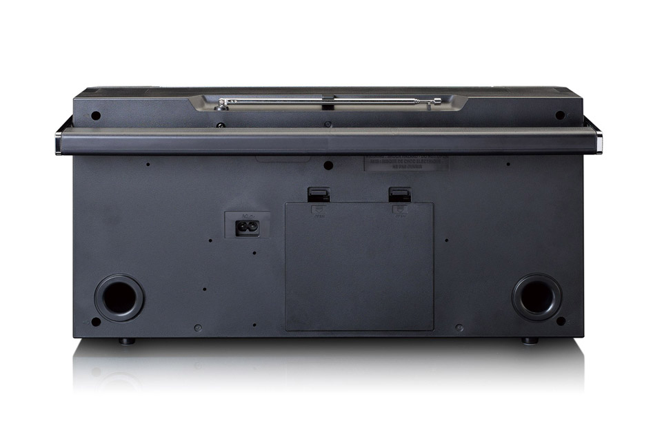 Lenco SCD-580 Ghettoblaster with Bluetooth - Back