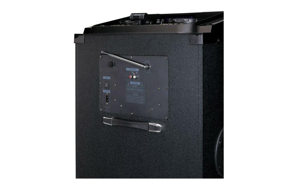 Lenco PMX-850 party speaker - Back