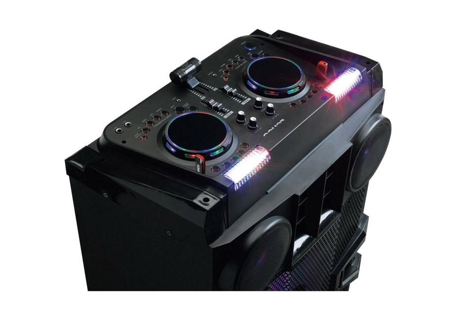 Lenco PMX-850 party speaker - Top