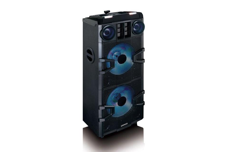 Lenco PMX-850 party speaker - Front