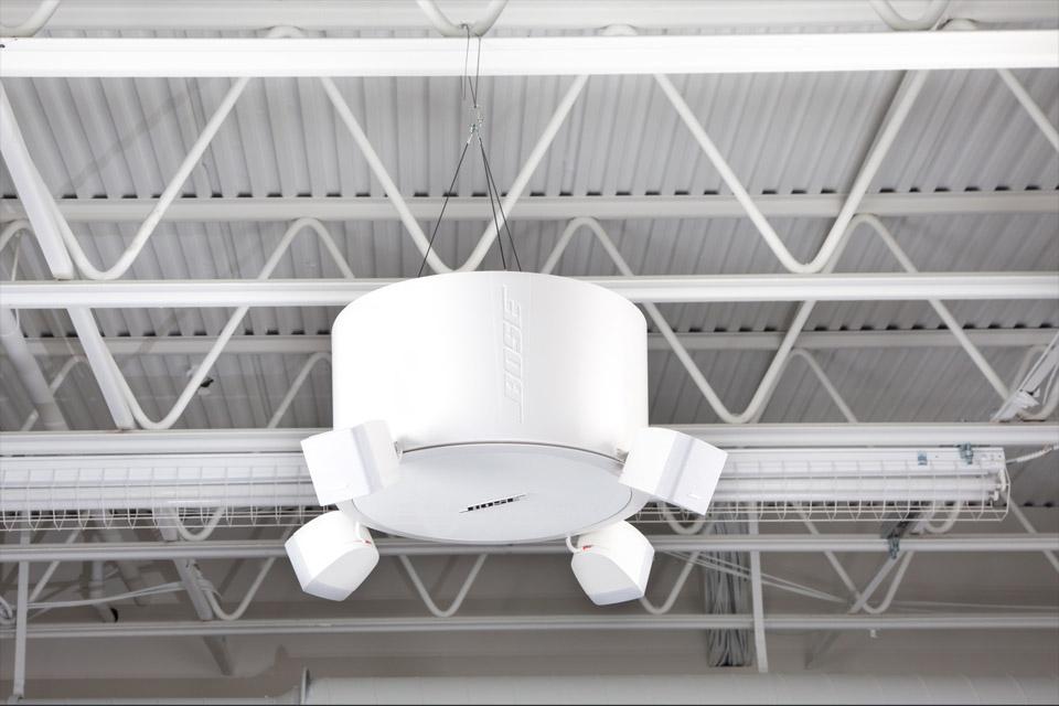Bose Pro FreeSpace®FS3 pendant system, hvid