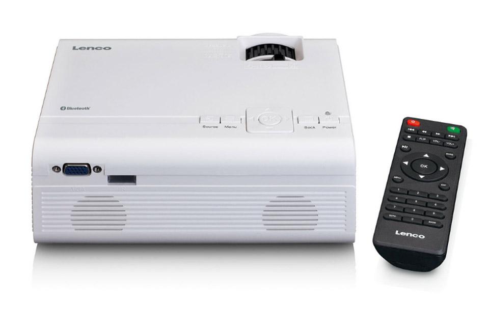 Lenco LPJ-300 projector - Top remote
