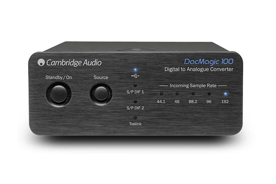 Cambridge Audio DacMagic 100, sort