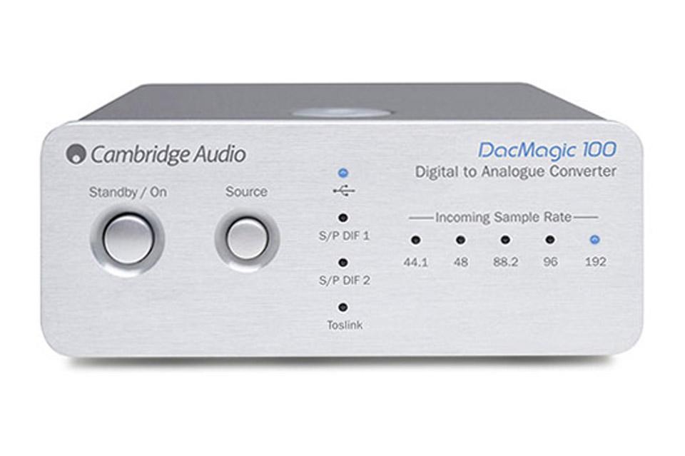 Cambridge Audio DacMagic 100, sølv