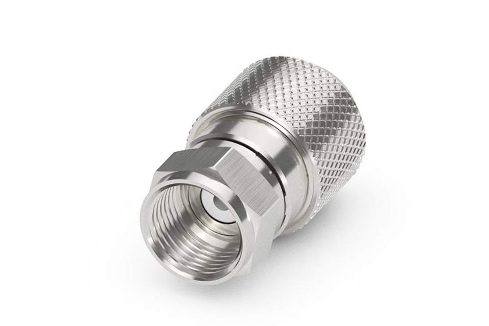 F-connector, EasyFit for 8.2-8.4 mm. cable