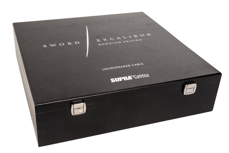 Supra Sword Excalibur speaker cable