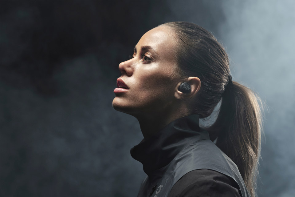 B&O Beoplay E8 Sport headphones, lifestyle