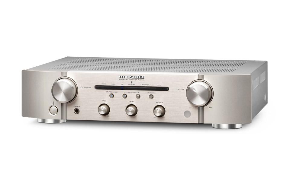 Marantz PM5005 stereo amplifier, silver