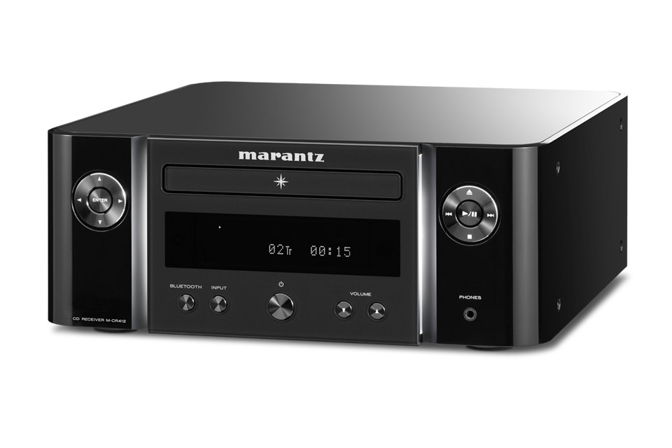 Marantz Melody M-CR412 receiver, black