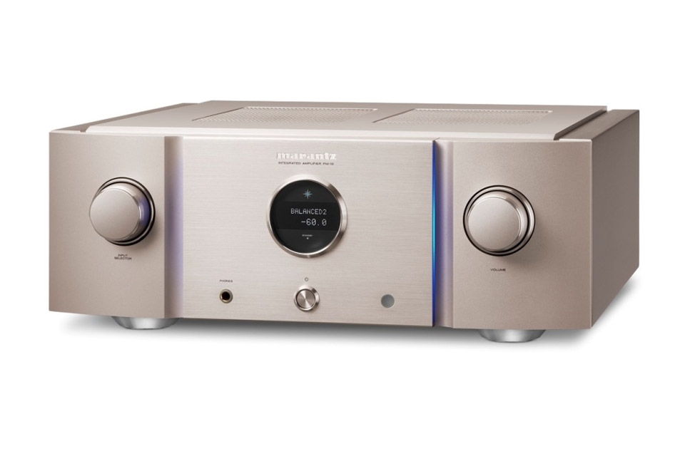 Marantz PM10S1 stereo amplifier, gold