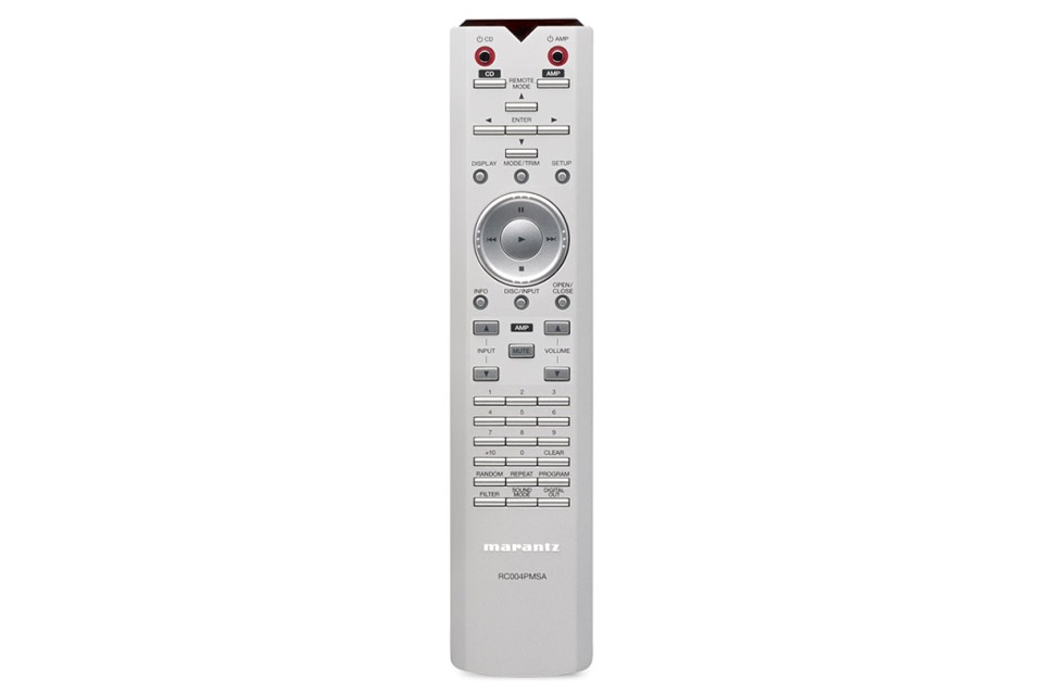 Marantz PM10S1 stereo amplifier, remote