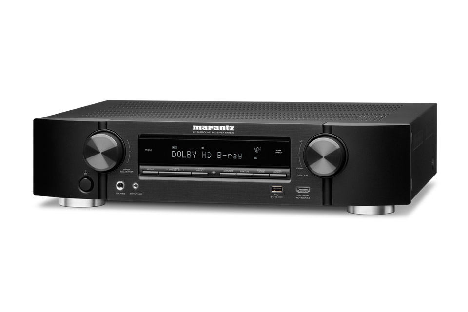 Marantz NR1510 surround receiver, black