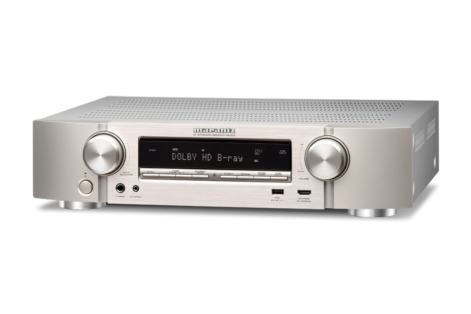 Marantz NR1510 surround receiver, silver