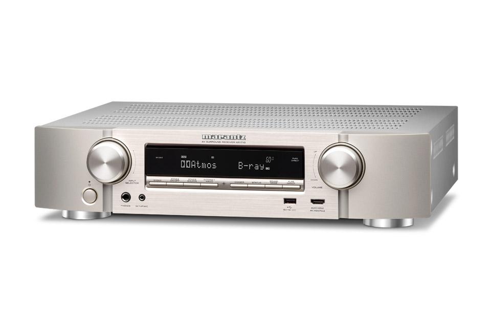 Marantz NR1710 surround receiver, silver
