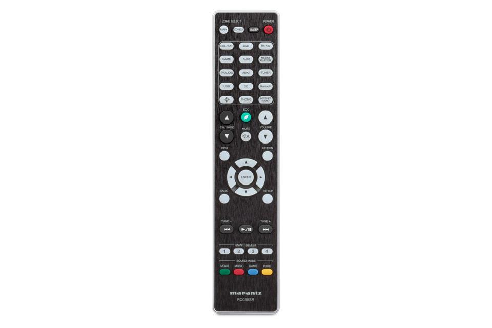 Marantz SR6014 surround receiver, remote