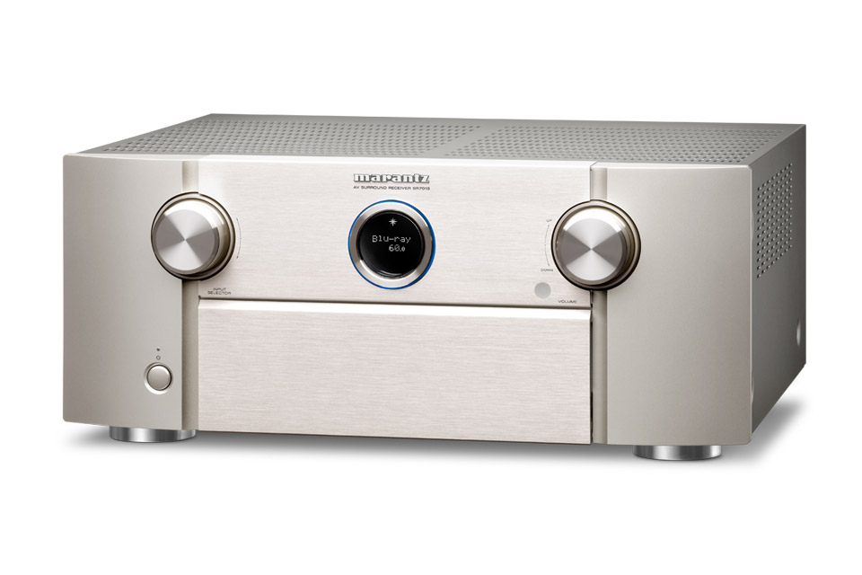 Marantz SR7013 surround receiver, silver