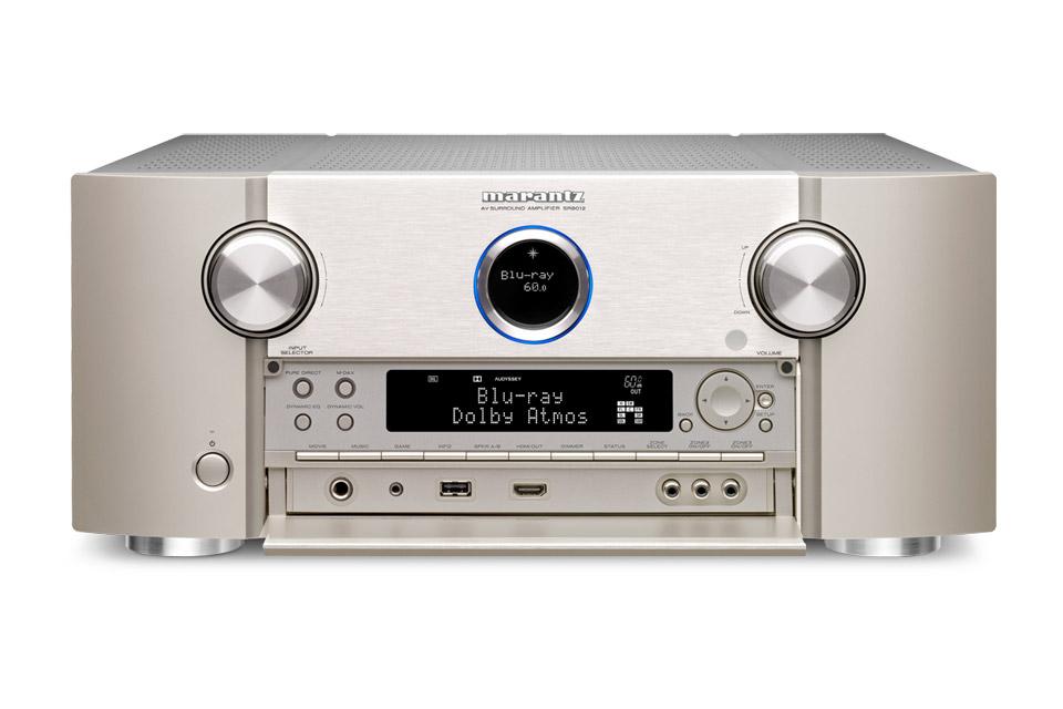 Marantz SR8012 surround receiver, silver