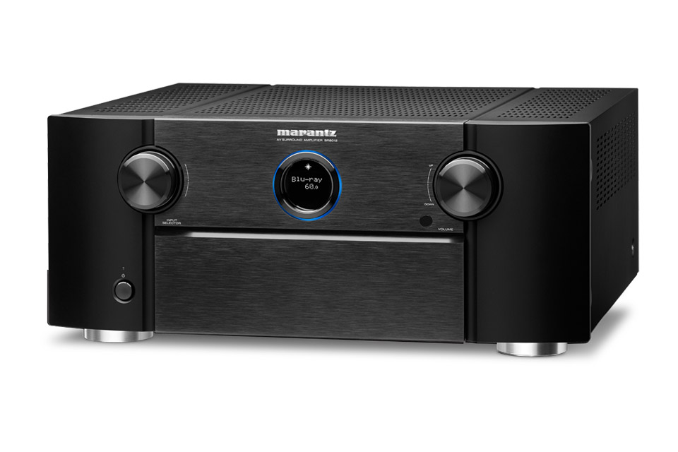 Marantz SR8012 surround receiver, black