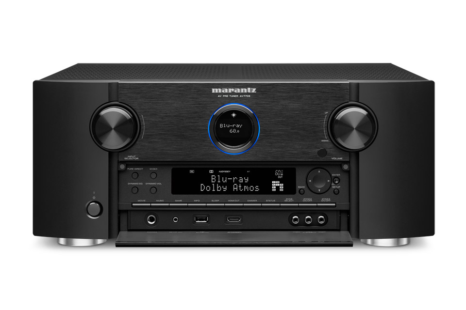 Marantz AV7705 surround processor, black