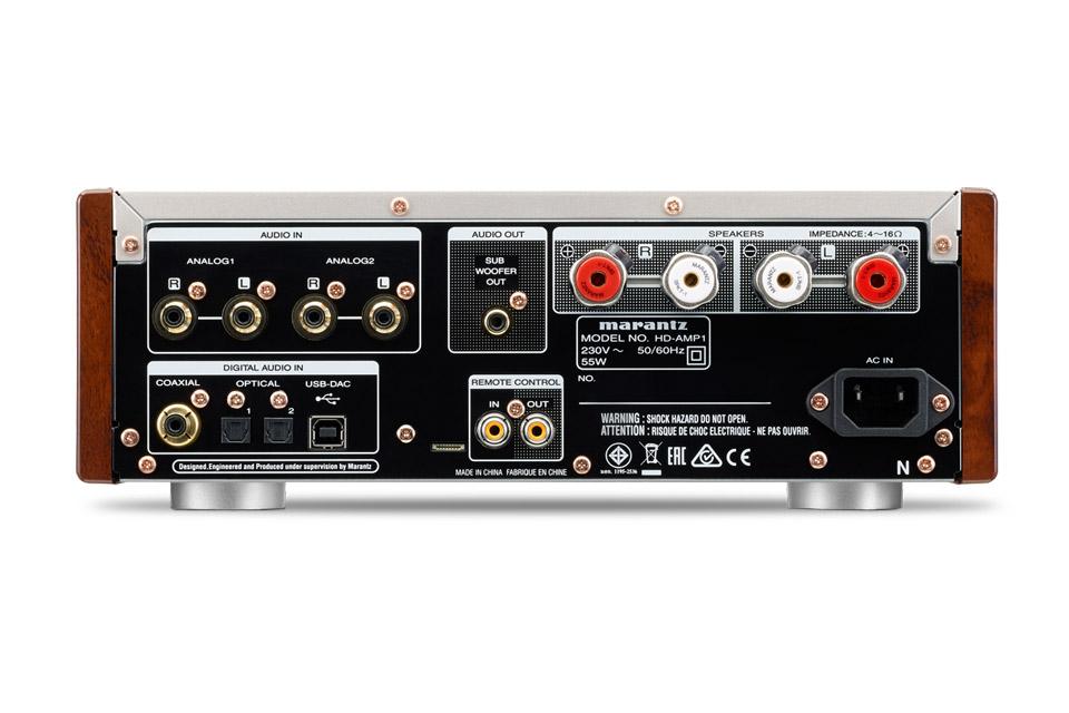 Marantz HD-AMP1 integrated stereo amplifier - Back