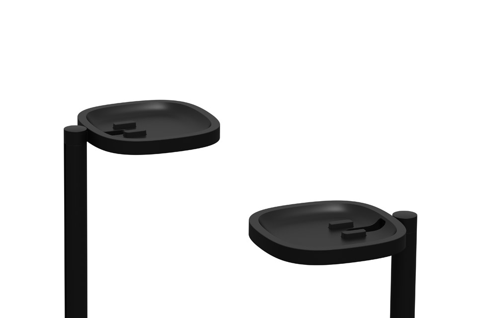SONOS Stands pair close, sort