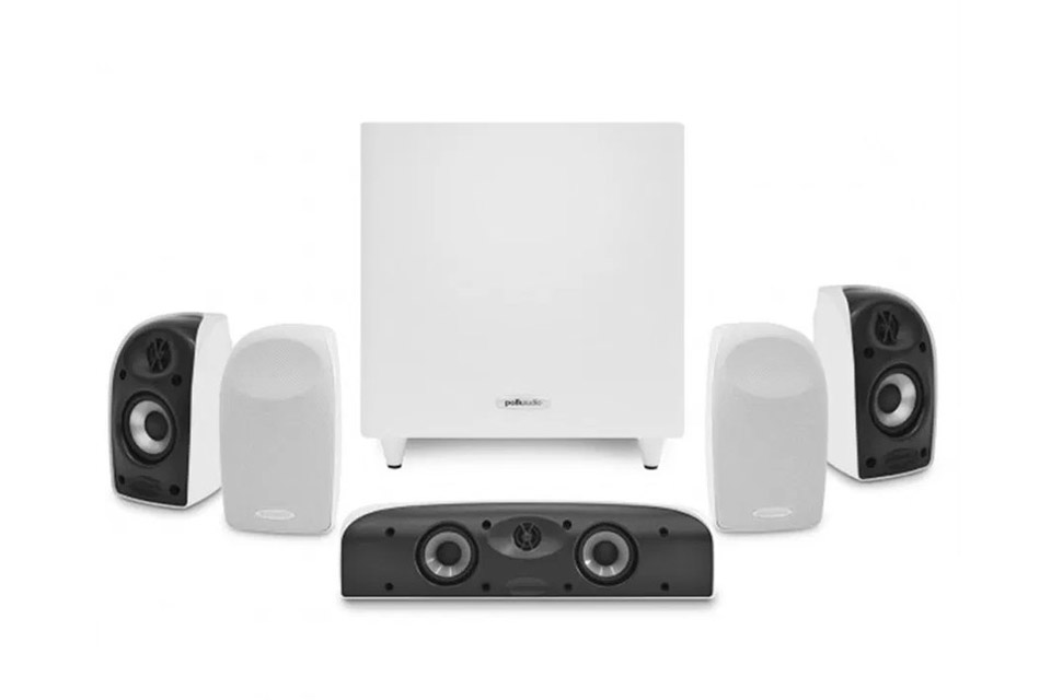 Polk Audio TL 5.1 surround speaker system - White