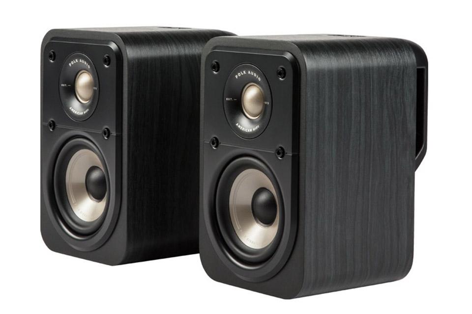 Polk Audio S10e bookshelf speaker - Black side