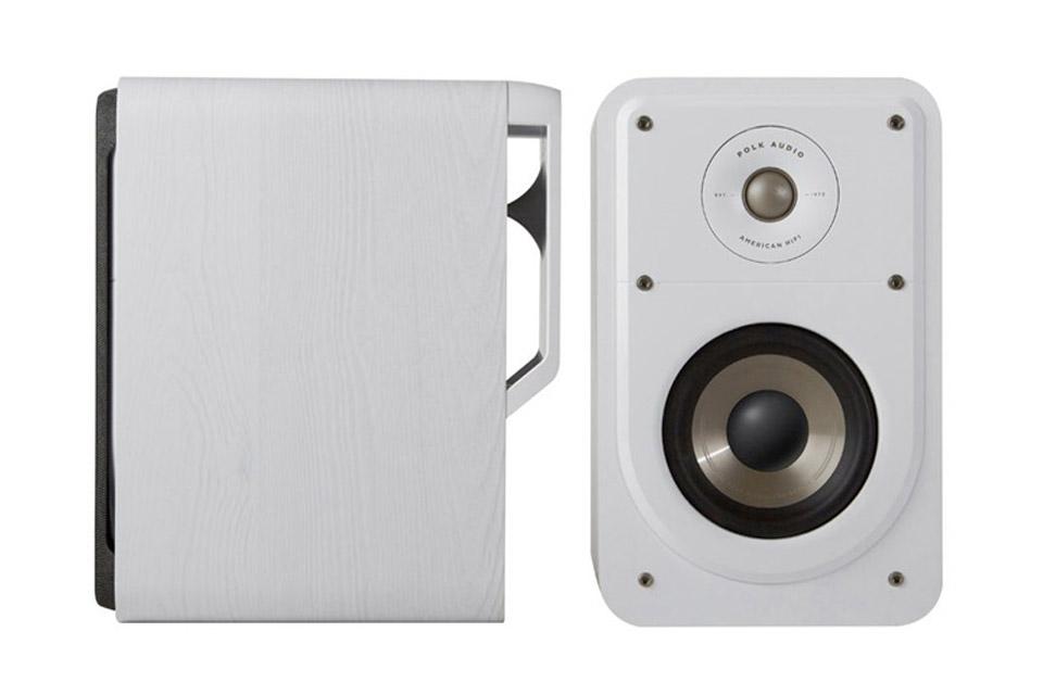Polk Audio S15e bookshelf speaker - White