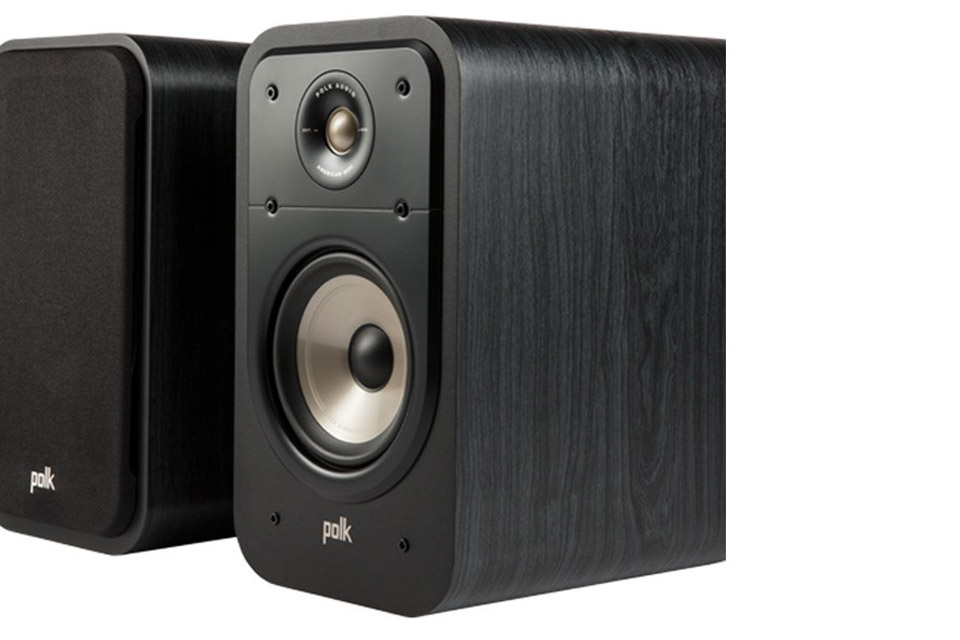 Polk Audio S20e bookshelf speaker - Black
