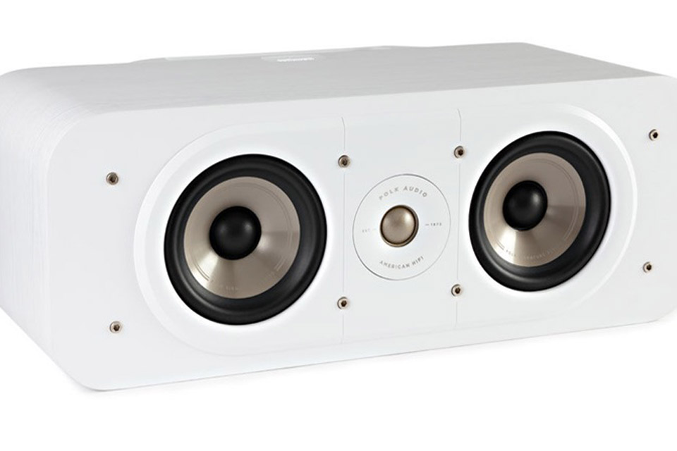 Polk Audio S30e bookshelf speaker - White