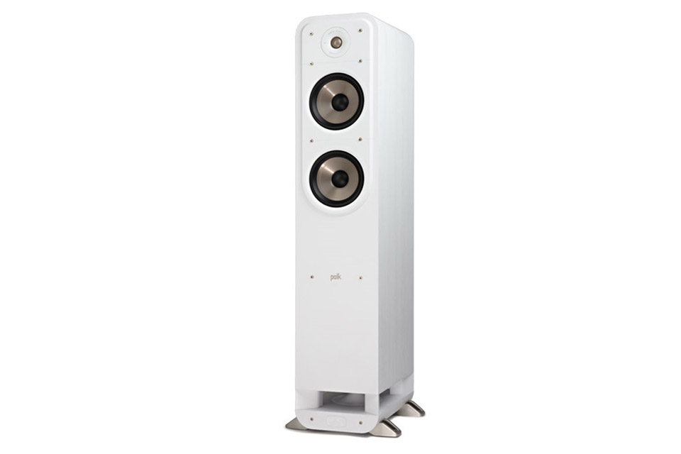 Polk Audio S55e bookshelf speaker - White