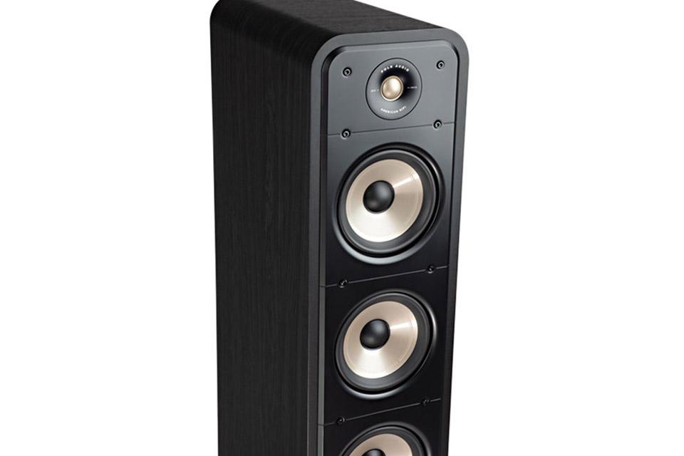 Polk Audio S60e bookshelf speaker - Black no front