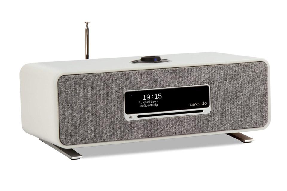Ruark Audio R3 music system table top FM/DAB+ internet radio with bluetooth - Grey