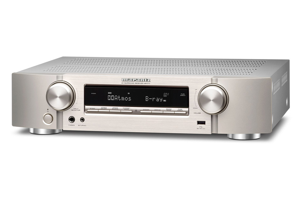 Marantz NR1711 surround receiver, silver