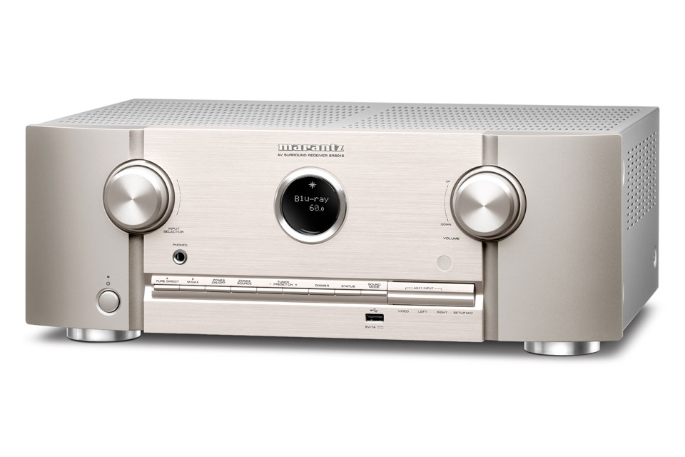 Marantz SR5015 surround receiver, silver
