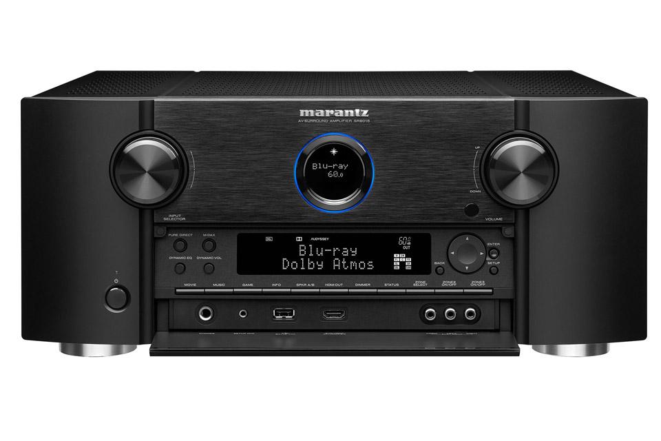 Marantz SR8015 surround receiver, black