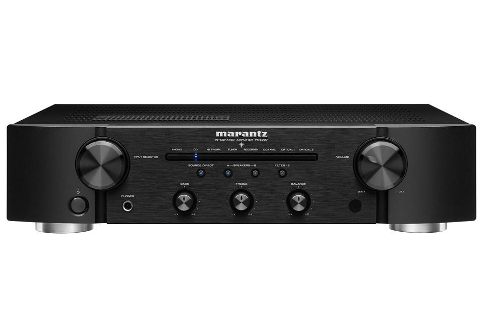 Marantz PM6007 stereo amplifier, black