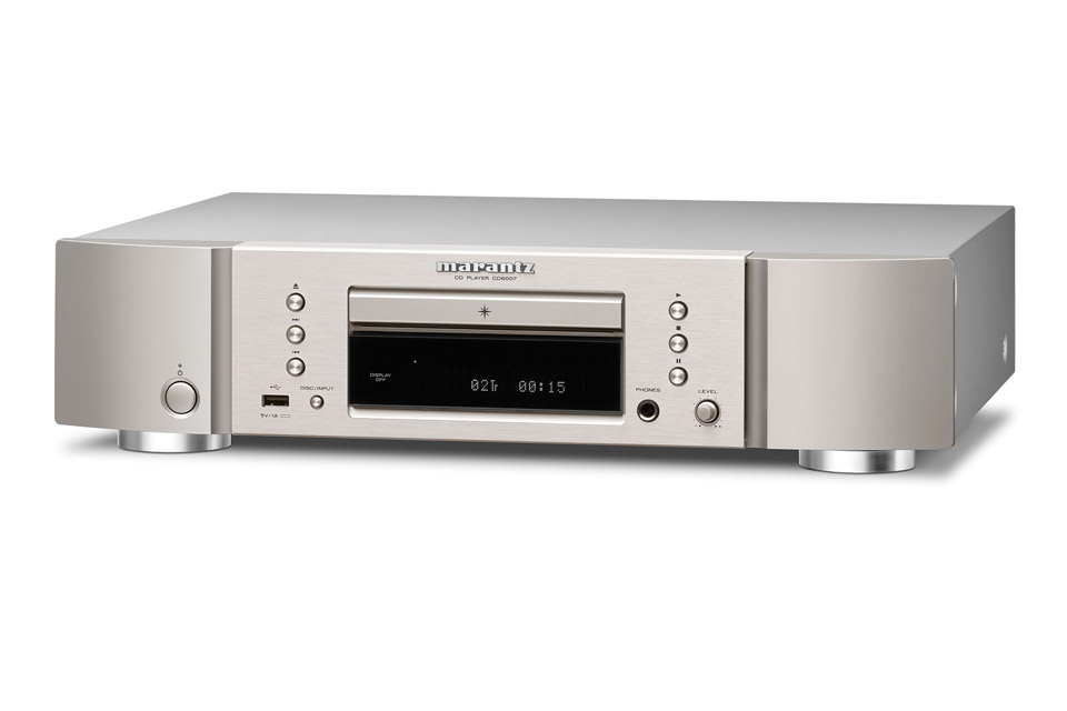 Marantz CD6007 CD-player, silver