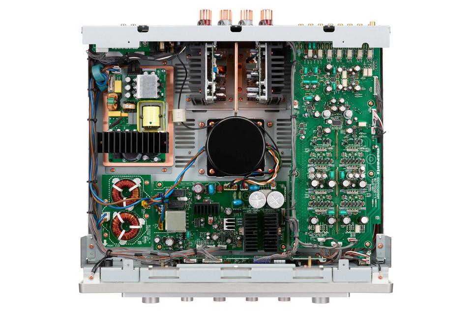 Marantz Model 30 integreret amplifier, silver