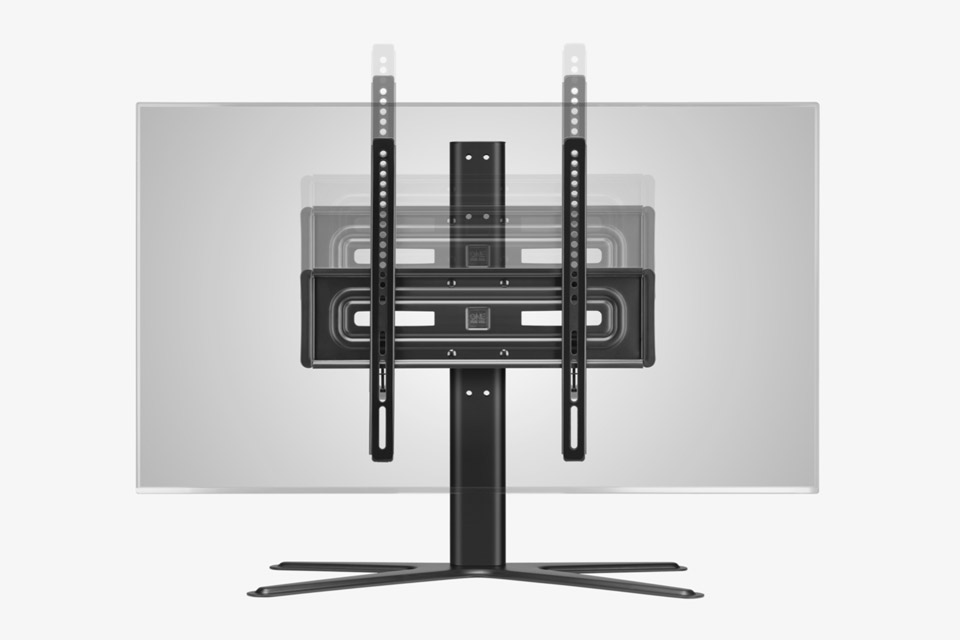 One For All WM 4471 Solid Tabletop TV Stand - Front