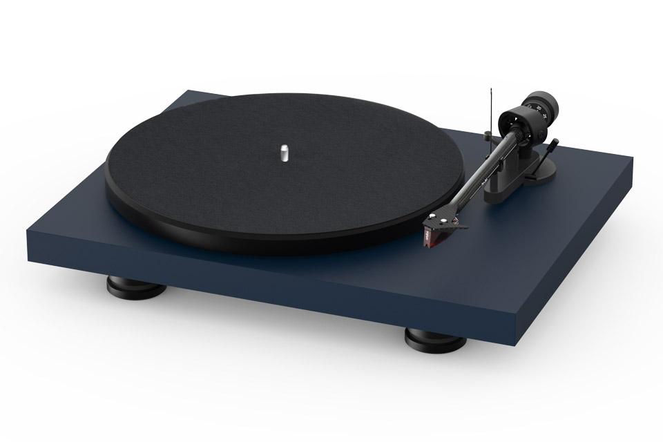 Pro-Ject Debut Carbon EVO recordplayer, satin blue